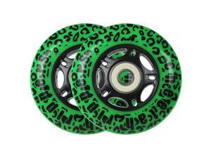 CHEETAH Wheels for RIPSTICK ripstik wave board ABEC 9 76MM 89A OUTDOOR Model DECK