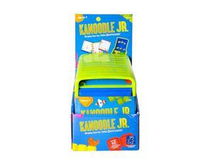 Kanoodle Jr Game Ages 4 and Up 60 Puzzles in Each Game Large Pieces for Smaller Hands Pack of 10 Games