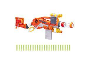Scravenger  Zombie Strike Toy Blaster with Two 12Dart Clips 26 Darts Light Barrel Extension X 40Mm Stock 2Dart Blaster For Kids Teens Adults