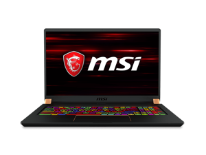 "MSI GS75 Stealth 10SFS-035 Gaming and Entertainment Laptop (Intel i7-10750H 6-Core, 64GB RAM, 4TB PCIe SSD, 17.3"" Full HD (1920x1080), NVIDIA RTX 2070 Super Max-Q, Wifi, Bluetooth, Webcam, Win 10 Pro)"
