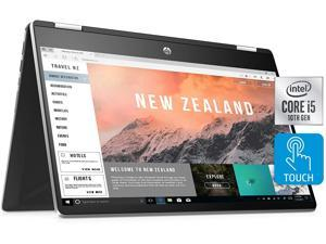 "HP Pavilion x360 - 14t 14-dh2011nr Home and Business Laptop (Intel i5-1035G1 4-Core, 32GB RAM, 512GB PCIe SSD, 14.0"" Full HD (1920x1080), Intel UHD Graphics, Wifi, Bluetooth, Webcam, Win 10 Pro)"