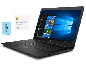 """HP - 17z-ca200 Home and Business Laptop (AMD Athlon Gold 3150U 2-Core, 32GB RAM, 512GB m.2 SATA SSD + 2TB  HDD, 17.3"""" HD+ (1600x900), Win 10 Home) with Microsoft 365 Personal , Hub"""