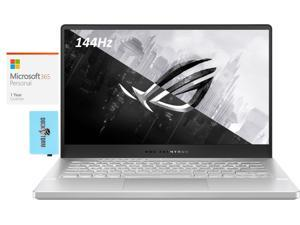 """ASUS ROG Zephyrus Gaming and Entertainment Laptop (AMD Ryzen 9 5900HS 8-Core, 40GB RAM, 1TB PCIe SSD, 14.0"""" Full HD (1920x1080), NVIDIA RTX 3060, Wifi, Win 10 Home) with Microsoft 365 Personal , Hub"""