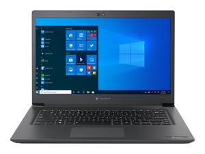 "Toshiba Dynabook Tecra A40-G School and Business Laptop (Intel Celeron 5205U 2-Core, 8GB RAM, 128GB PCIe SSD, 14.0"" Full HD (1920x1080), Intel UHD, Wifi, Bluetooth, Webcam, 1xHDMI, Win 10 Pro)"