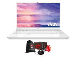 """MSI Prestige 14 EVO Home & Business Laptop (Intel i5-1135G7 4-Core, 16GB RAM, 512GB PCIe SSD, 14.0"""" Full HD (1920x1080), Intel Iris Xe, Fingerprint, Wifi, Bluetooth, Win 10 Pro) with Loot Box"""