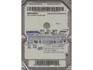 MP0402H, MP0402H, Rev A, Samsung 40GB IDE 2.5 Hard Drive