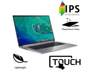 Acer Swift 5 Ultra-Thin & Lightweight Customized Laptop | Intel Quad Core i7-8565U | 16GB RAM 256GB SSD | Full HD Touch | Backlit Keyboard | Only 2.2 lb | Windows 10 Silver