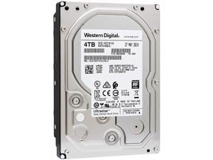 HGST WD Ultrastar HUS726T4TALE6L4 4TB 7200 RPM 512e SATA 6Gb/s 3.5-Inch Internal Hard Disk Drive