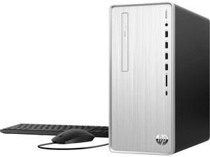 2021 HP Pavilion TP01 Premium Desktop, AMD 6-Core Ryzen 5 4600G upto 4.2GHz, 24GB RAM, 512GB PCIe SSD Boot + 1TB HDD, DVD-RW, Included: Keyboard & Mouse, WIFI, Bluetooth, Windows 10 Home