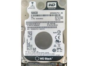 "Lenovo WD Black 500GB 7200 RPM 2.5"" SATA 7mm 6GB/Sec Slim Internal Laptop Performance Hard Drive for ThinkPad and IdeaPad Notebooks"