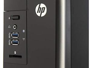HP Pavilion Slimline Desktop PC - AMD E1-2500 (1.40 GHz) / 4GB Memory / 500GB Hard Drive / AMD Radeon HD 8240 / DVD±RW/CD-RW / Windows 8.1 64-bit
