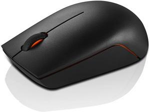 Lenovo 300 Wireless Compact Mouse, Black, 1000 dpi, Ultra-portable design, Up to 12 months battery life, GX30K79402