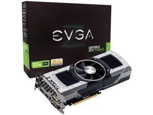 EVGA GeForce GTX TITAN Z Superclocked 12GB GDDR5 768bit PCI-E Graphic Card (12G-P4-3992-KR)