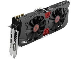 ASUS STRIX GeForce GTX 980 Overclocked 4 GB DDR5 256-bit DisplayPort HDMI 2.0 DVI-I Graphics Card
