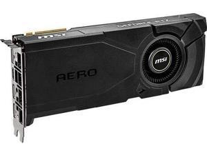 MSI Gaming GeForce RTX 2080 Super 8GB GDRR6 256-Bit HDMI/DP Nvlink Turing Architecture Overclocked Graphics Card (RTX 2080 Super Aero)