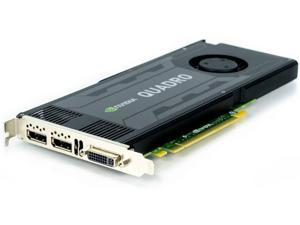HP 713381-001 NVIDIA Quadro K4000 3GB GDDR5 PCI-e graphics card
