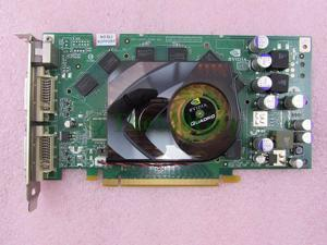 HP 413109-001 NVIDIA Quadro FX1500 256MB 256Bit PCIe x16 Workstation Video Card