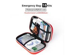 Waterproof bag  customized logo/size survival emergency kits survival first aid bag with supplies