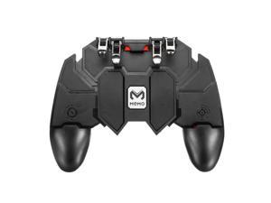 AK66 Six Fingers All-in-One Game Controller for Cellphone Free Fire Key Button Joystick Gamepad L1 R1Trigger