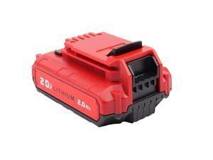 20Ah 20V Max Liion Rechargeable Replacement Battery for Porter Cable PCC685L PCC680L PCC682L PCC685LP 1 Pack
