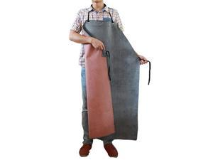 Rubber Waterproof Work Apron Extra Long Oil Resistant for Dishwashing Factory Slaughterhouse