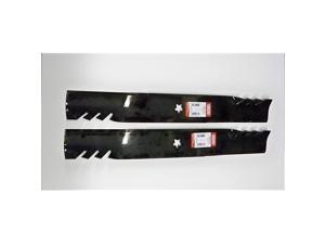 of 2 Longer Life 596370 Gator Fusion G5 3In1 Mulching Blades to Replace 405380 532405380 403107 532403107 Craftsman Poulan Husqvarna Made in USA