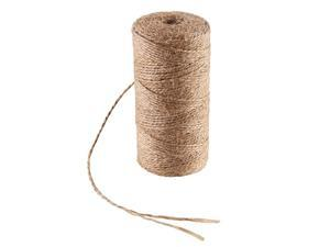 328 Feet Natural Jute Twine for Arts and Crafts Jute Rope Christmas Gift Packing String for Gardening String Natural Rustic String Gift wrap Twine