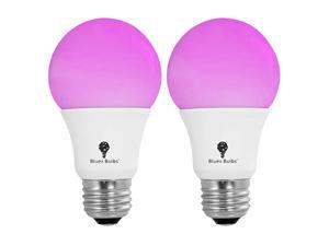 Pack BlueX 75W LED Grow Light Bulb A19 Bulb Full Spectrum Grow Lamp Grow Healthier amp Yield Better Harvests for DIY Indoor Plants Flowers Greenhouse Indore Garden Hydroponic