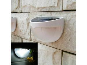 Waterproof 6LED Solar Power Light Sensor Wall Light Outdoor Garden Fence Lamp