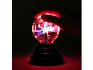 Magic Plasma Ball Sphere Nebula Lightning Lamp Desktop Light Party Crystal Globe