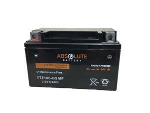 New AGM YTZ10S ATV Battery Suzuki LT-R450 QuadRacer 450 Yamaha YFM350 Raptor 350