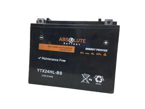 New YTX24HL-BS Replacement Battery For Yamaha 1100 XJ1100 Maxim 1982 Motorcycle