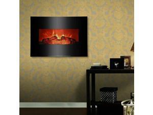 "1400W Wall Mount 26"" Electric Safe Fireplace Heat Heater"