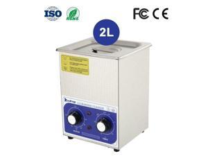 2L Stainless Steel Ultrasonic Cleaner Sonic Jewel False-tooth Equipment