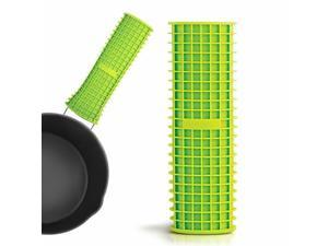 Soft Non-slip Grid Cell Handle for Most Pots  Pans Handles - Green
