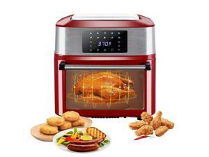 1800W 16L Capacity XL Air Fryer Oven All-In-One Dehydrator Grill Home Red
