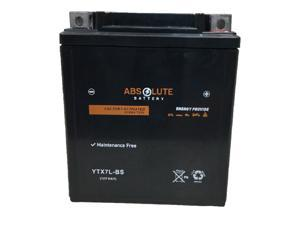 New YTX7L-BS Motorcycle Replacement AGM Battery 4 Yamaha 321 YZF-R3 2015 - 2018