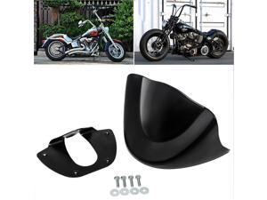 Matte Black Front Chin Spoiler Air Dam Fairing For Harley Dyna FXDL FXD 99-05 US