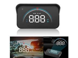 Car Digital Speedometer Head Up Display HUD OBD2 Overspeed Tired Warning Alarm