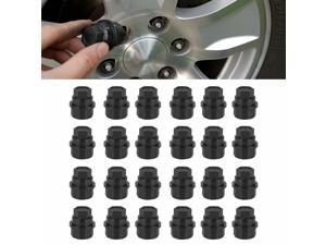 24Pcs Lug Nut Cover Cap 15646250 Fit for Chevrolet GMC 1500 2500 Full Size Truck
