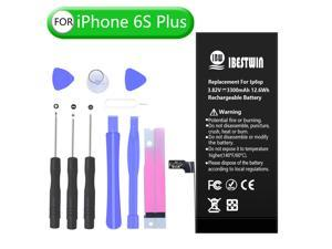 Battery for iPhone 6s Plus, High Capacity 3300mAh Replacement Battery for iPhone 6S Plus with Full Tool Kit and Instruction