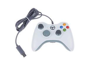 USB Wired Gamepad Games Controller Joystick Joypad for Microsoft Xbox 360 XBOX360 PC Windows 7 8 10 Game Laptop Desktop OEM White