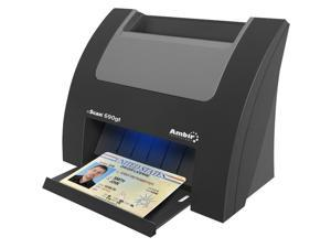 Ambir nScan 690gt DS690GT-AS Card Optical Resolution - up to 600dpi Duplex ID Card Scanner with AmbirScan