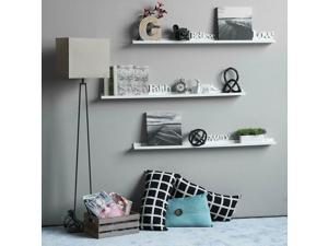 1 PCS Wallniture Flong Wall Shelves Ledge Shelf Storage White 46 Inch Set New