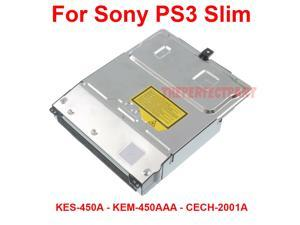 Replacement Blu-Ray DVD Drive For PS3 Slim 120GB CECH-2001A KEM-450AAA KES-450A