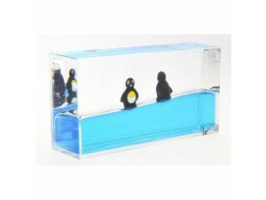 Liquid Penguin Paperweight Mini