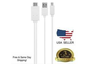 Micro USB MHL to HDMI 1080p Cable TV Out Lead for Android  Phones