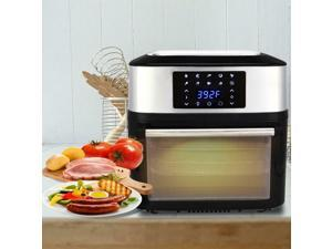 1800W Air Fryer Oven All-In-One 16L Plus Dehydrator Grill Rotisserie 16QT