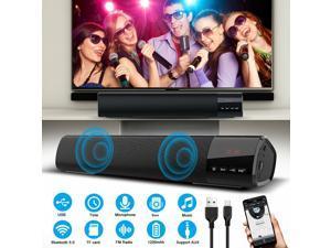 Sound Bar TV Soundbar Wired  Wireless Bluetooth Home Theater TV Stereo Speaker