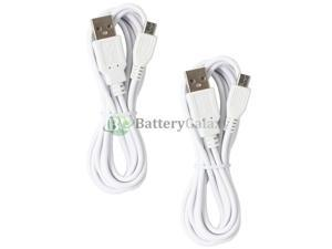 2 NEW Micro USB 6FT Charger Cable for Phone LG Phoenix G2 G3 G4 K3 K4 K7 K8 K10